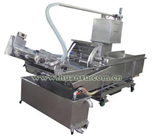 果蔬清洗机械FX-800,毛刷清洗