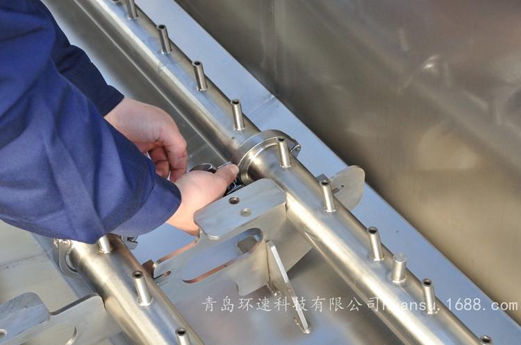 商用大型洗菜機 800kg/h清洗能力 果蔬(shu)清洗機